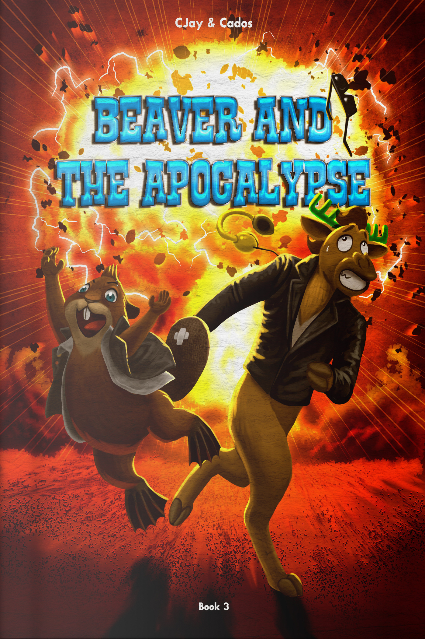 Beaver, Moose, Gontran, and Azel have to overcome a cataclysm of biblical proportions.